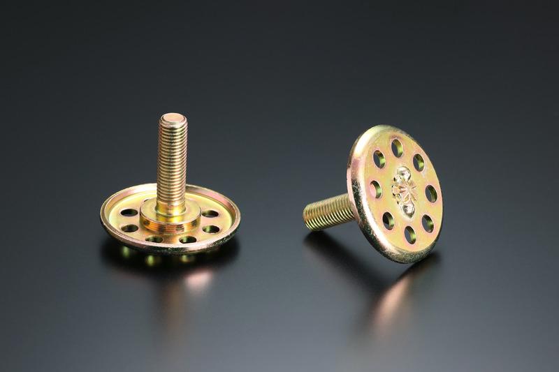 インナープレートの材質および形状を見直し、潰れ剛性&耐久性を大幅にアップ。