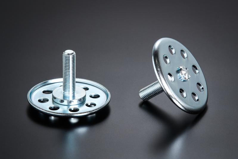 インナープレートの材質および形状を見直すことで、潰れ剛性&耐久性を大幅にアップ。