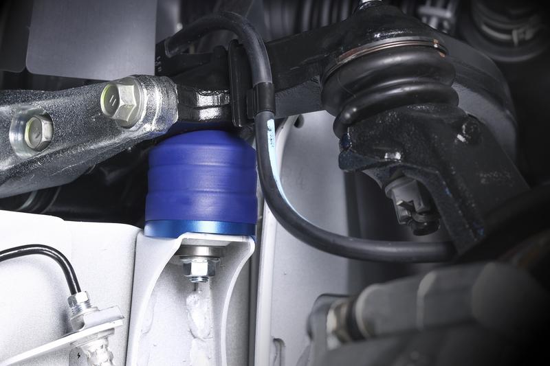■Genbリバンプストッパー リバンプストロークを積極的に規制することで、アンチロール効果を狙うセッティングもアリ。