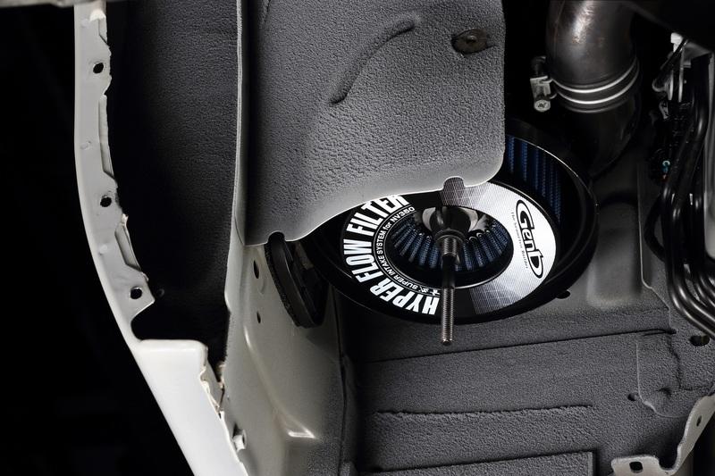 クリーナーボックス容積の限界まで吸入面積を拡大。