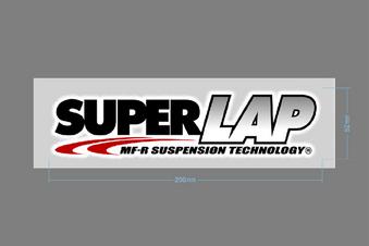SUPERLAP ステッカー 200×52 - ST11