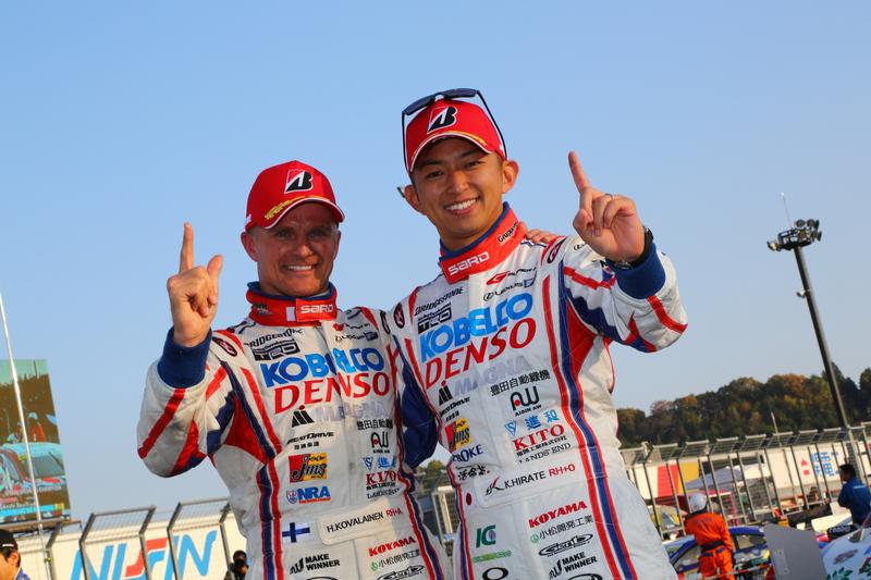 今シーズンのドライバーラインアップは、ヘイキ・コバライネンと平手晃平の2016年チャンピオンコンビを継続‼